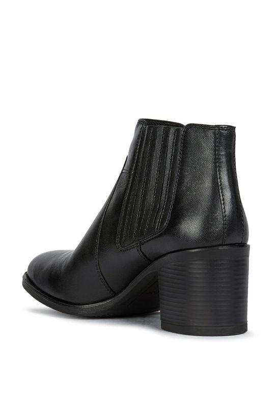 čierna Geox - Semišové topánky