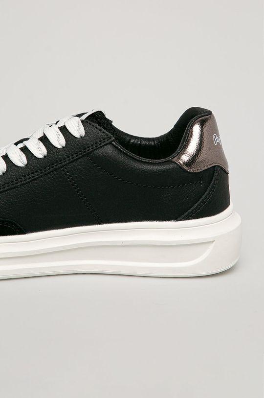 Pepe Jeans - Kožené boty Abbey Top  Svršek: Přírodní kůže Vnitřek: Umělá hmota, Textilní materiál Podrážka: Umělá hmota