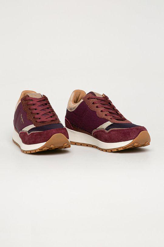 Pepe Jeans - Pantofi Dean Nass castan