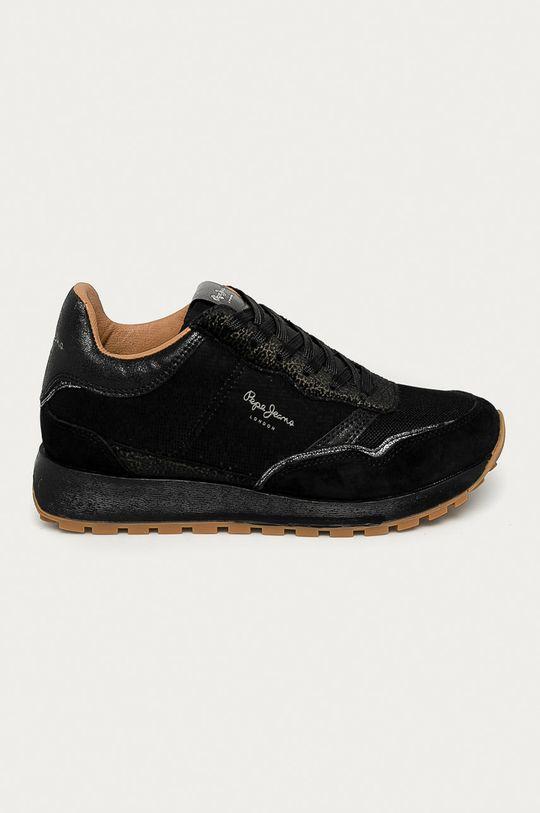 negru Pepe Jeans - Pantofi Dean Nass De femei
