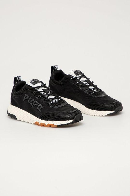 Pepe Jeans - Topánky Koko IVE 20 čierna