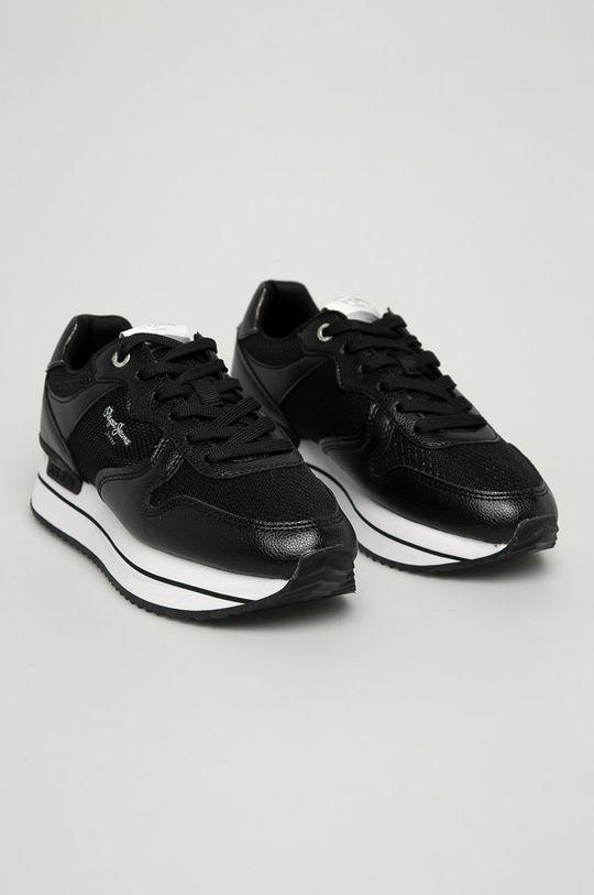 Pepe Jeans - Pantofi Rusper City negru