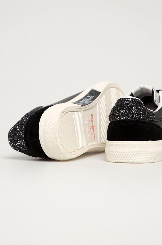 černá Pepe Jeans - Boty Kenton Classic