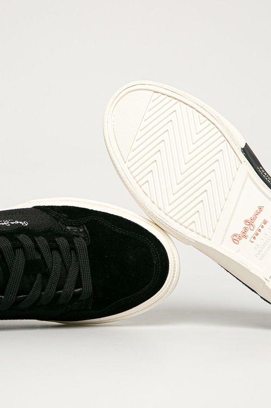 čierna Pepe Jeans - Topánky Kenton Orginal