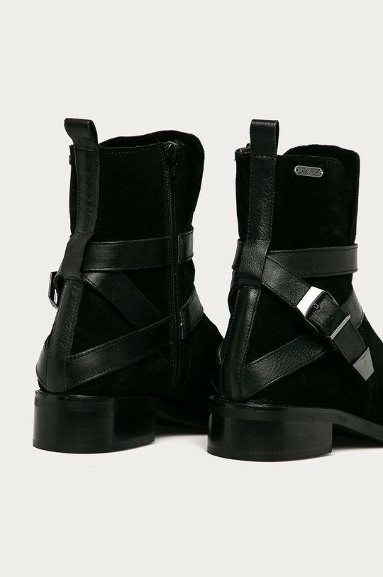 Pepe Jeans - Semišové boty Maldon Land  Svršek: Semišová kůže Vnitřek: Textilní materiál, Přírodní kůže Podrážka: Umělá hmota