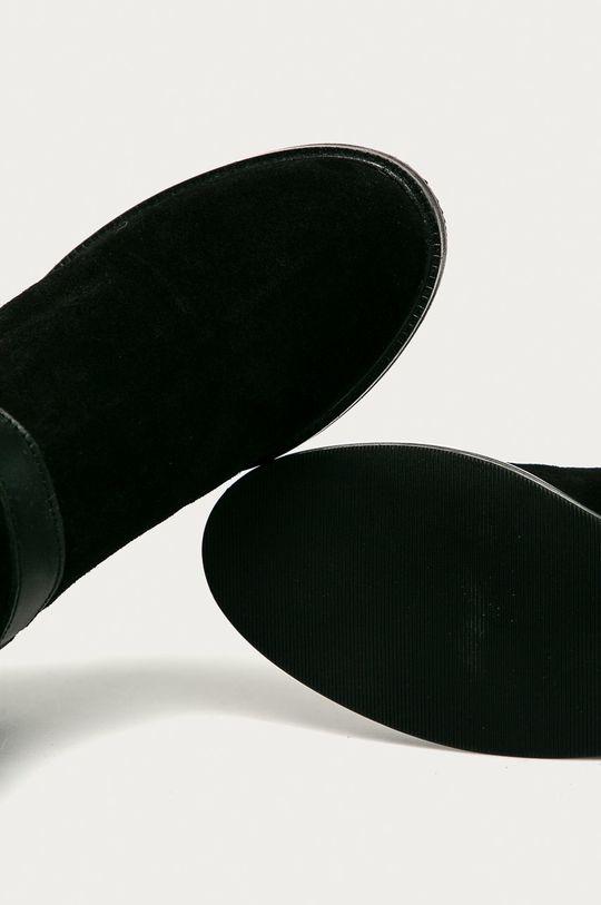 černá Pepe Jeans - Semišové boty Maldon Land