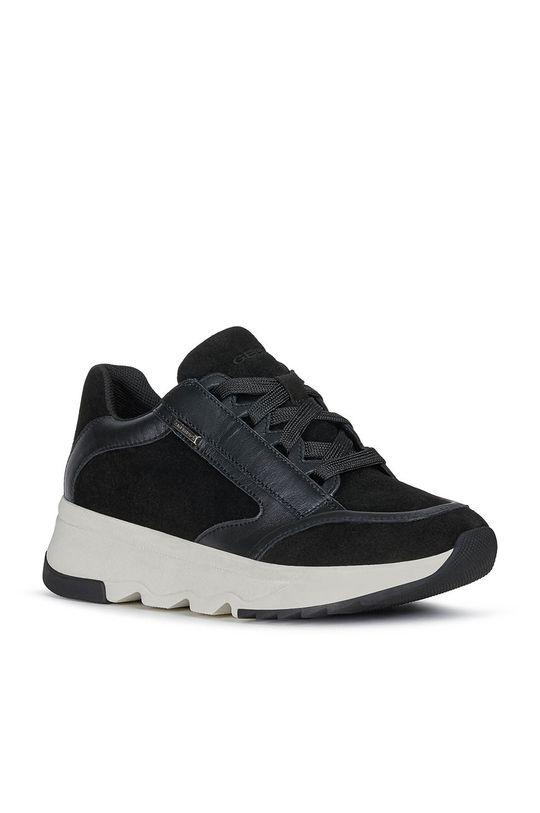 Geox - Topánky čierna