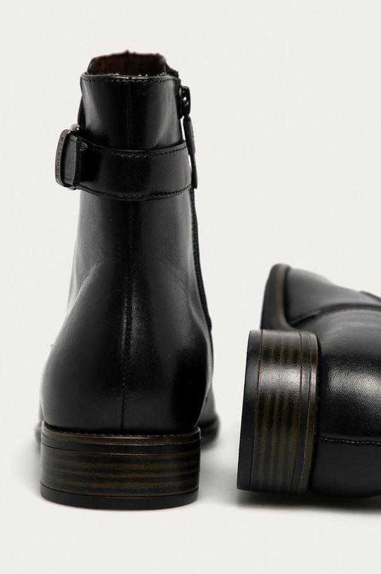 Tamaris - Kožené kotníkové boty  Svršek: Přírodní kůže Vnitřek: Textilní materiál, Přírodní kůže Hlavní materiál: Umělá hmota