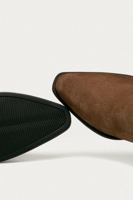 ciemny brązowy Tamaris - Botki zamszowe