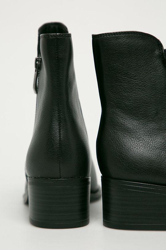 Tamaris - Cizme de piele  Gamba: Piele naturala Interiorul: Material sintetic, Material textil Talpa: Material sintetic