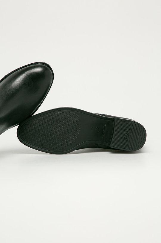negru Tamaris - Cizme de piele