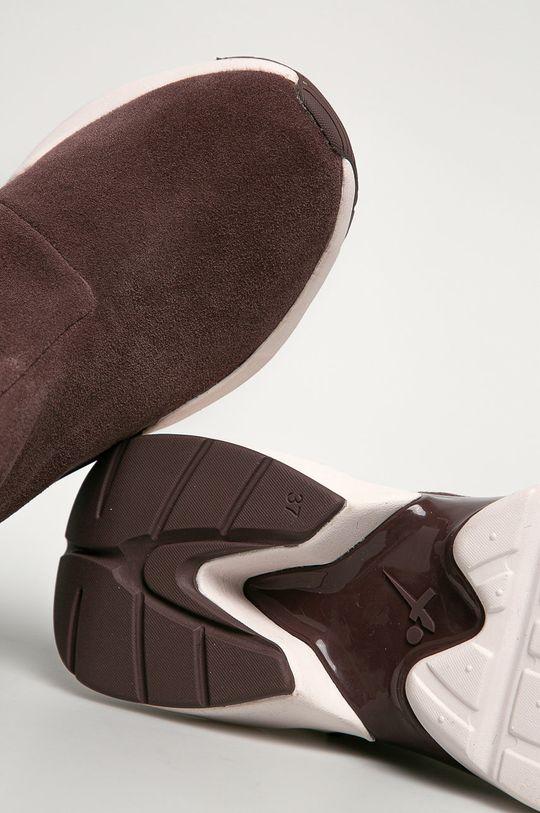Tamaris - Cizme de zapada din piele intoarsa  Gamba: Piele intoarsa Interiorul: Material sintetic, Material textil Talpa: Material sintetic
