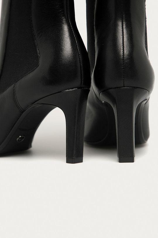 Tamaris - Kožené kotníkové boty  Svršek: Přírodní kůže Vnitřek: Umělá hmota, Textilní materiál Podrážka: Umělá hmota