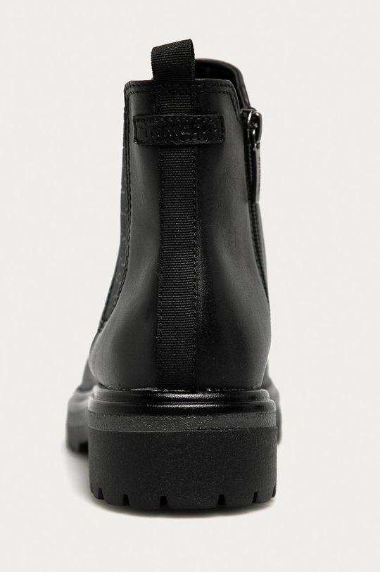 Tamaris - Kožené kotníkové boty  Svršek: Přírodní kůže Vnitřek: Textilní materiál Podrážka: Umělá hmota