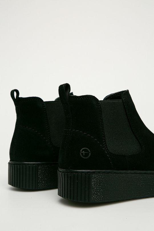 Tamaris - Шкіряні черевики  Халяви: Замша Внутрішня частина: Текстильний матеріал Підошва: Синтетичний матеріал