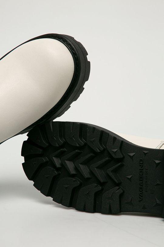 biały Vagabond - Sztyblety skórzane Cosmo 2.0