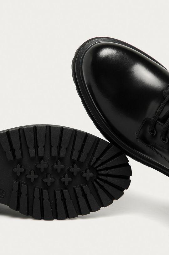 negru Hugo - Bocanci de piele