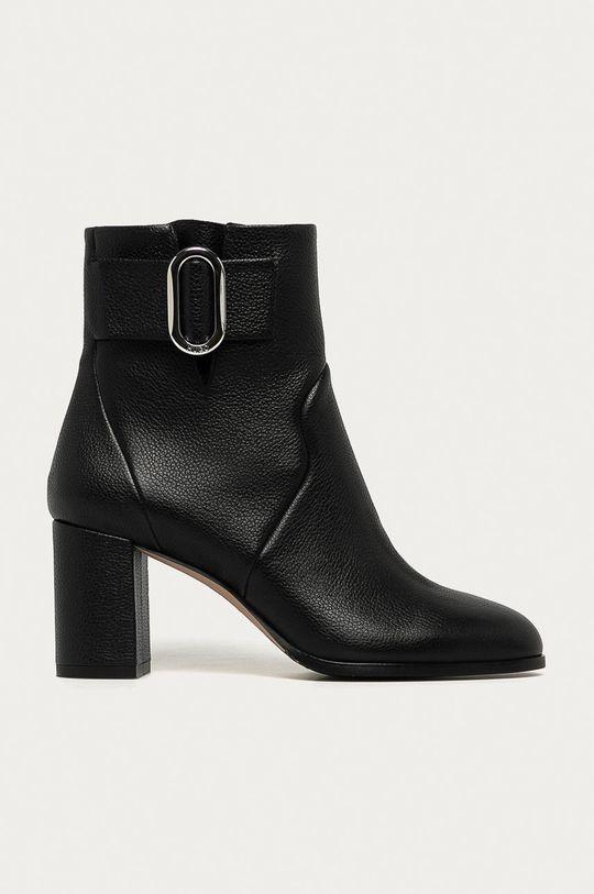 negru Hugo - Cizme de piele De femei