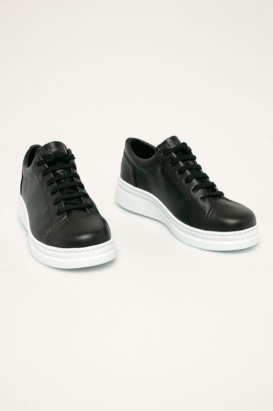 Camper - Шкіряні черевики Runner Up чорний