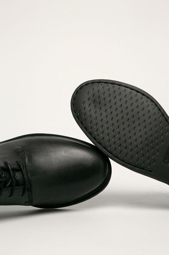 negru Camper - Pantofi de piele Iman