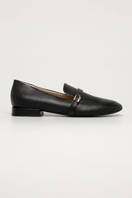 negru Furla - Mocasini de piele 1927 De femei
