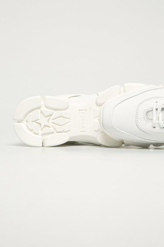 biela Furla - Kožená obuv Wonder
