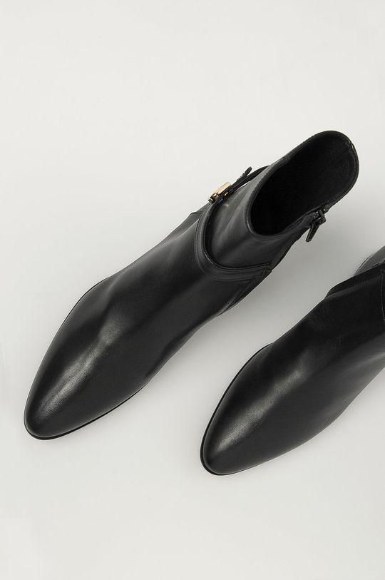 Furla - Kožené členkové topánky Grace Dámsky