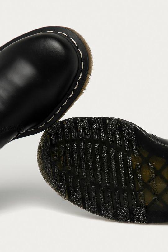 černá Dr. Martens - Kožené kotníkové boty 2976