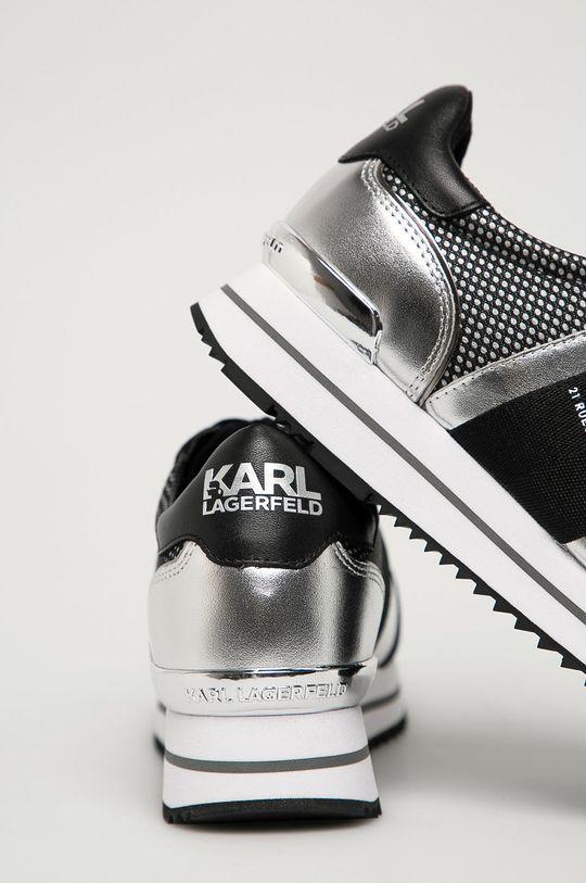Karl Lagerfeld - Кроссовки  Голенище: Текстильный материал, Натуральная кожа Внутренняя часть: Синтетический материал, Натуральная кожа Подошва: Синтетический материал