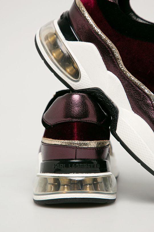 Karl Lagerfeld - Кроссовки  Голенище: Синтетический материал, Текстильный материал, Натуральная кожа Внутренняя часть: Синтетический материал, Текстильный материал Подошва: Синтетический материал
