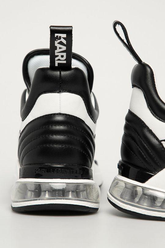 Karl Lagerfeld - Buty Cholewka: Materiał tekstylny, Skóra naturalna, Wnętrze: Materiał syntetyczny, Materiał tekstylny, Podeszwa: Materiał syntetyczny