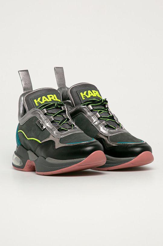 Karl Lagerfeld - Topánky sivá