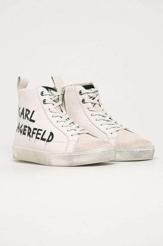 Karl Lagerfeld - Кожаные Кроссовки белый