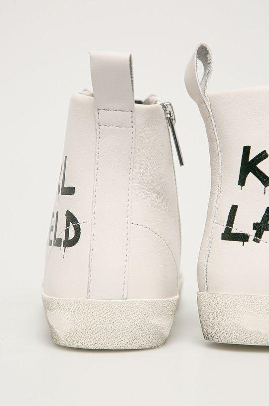 Karl Lagerfeld - Кожаные Кроссовки  Голенище: Натуральная кожа Внутренняя часть: Синтетический материал, Натуральная кожа Подошва: Синтетический материал