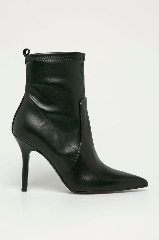 čierna Karl Lagerfeld - Členkové topánky Dámsky