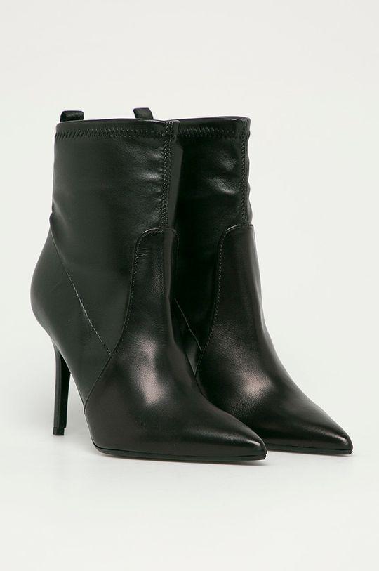 Karl Lagerfeld - Členkové topánky čierna