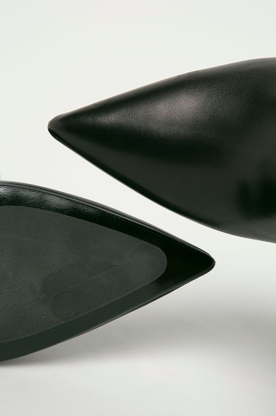 čierna Karl Lagerfeld - Členkové topánky