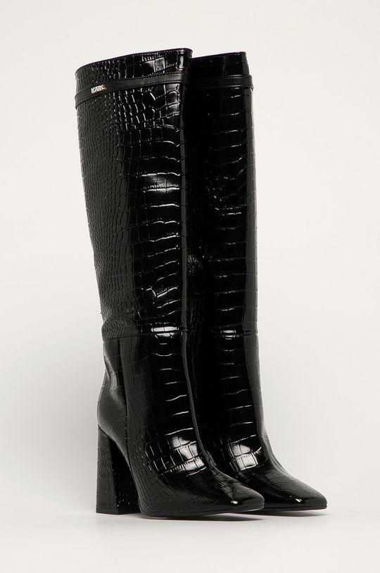 Karl Lagerfeld - Сапоги чёрный