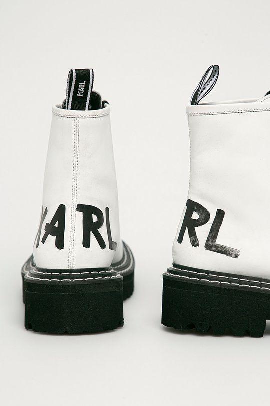 Karl Lagerfeld - Bocanci de piele  Gamba: Piele naturala Interiorul: Piele naturala Talpa: Material sintetic