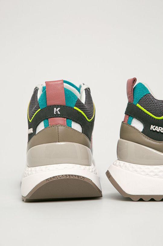 Karl Lagerfeld - Buty Cholewka: Materiał tekstylny, Skóra naturalna, Wnętrze: Materiał tekstylny, Skóra naturalna, Podeszwa: Materiał syntetyczny
