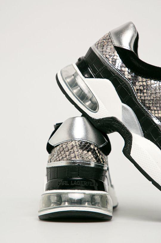 Karl Lagerfeld - Buty Cholewka: Materiał syntetyczny, Skóra naturalna, Wnętrze: Materiał syntetyczny, Podeszwa: Materiał syntetyczny