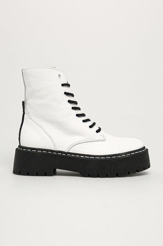 білий Steve Madden - Шкіряні черевики Жіночий