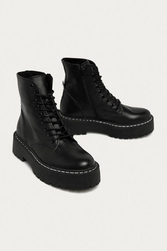 Steve Madden - Шкіряні черевики чорний