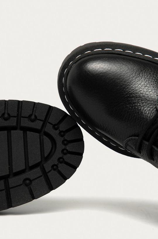 чорний Steve Madden - Шкіряні черевики