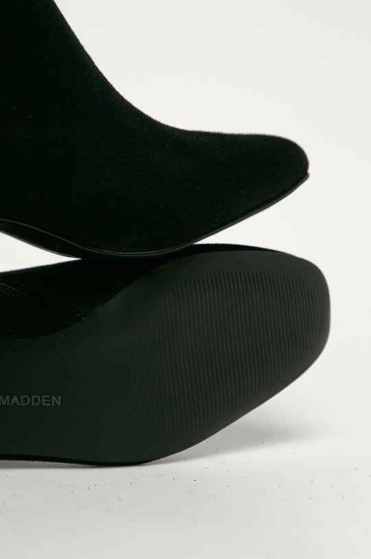 negru Steve Madden - Cizme din piele intoarsa Davist