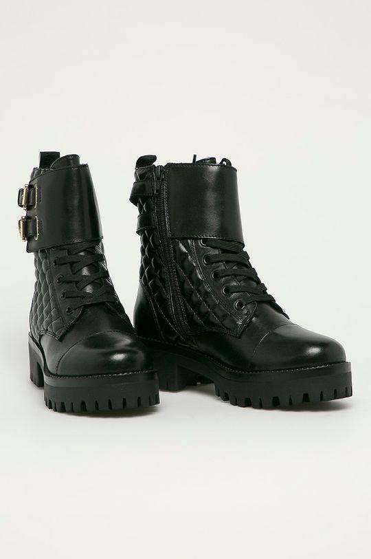 Steve Madden - Členkové topánky Londa čierna