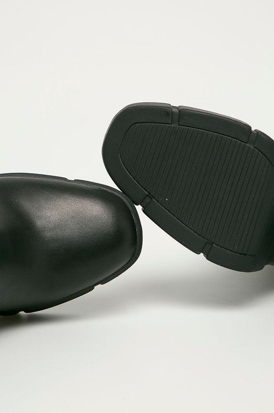 negru Steve Madden - Cizme de piele Revised