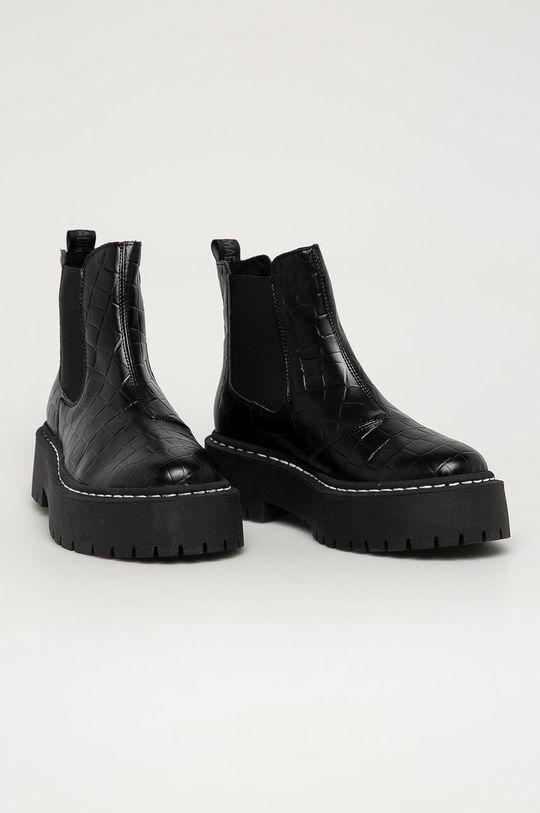 Steve Madden - Topánky Chelsea Veerly čierna
