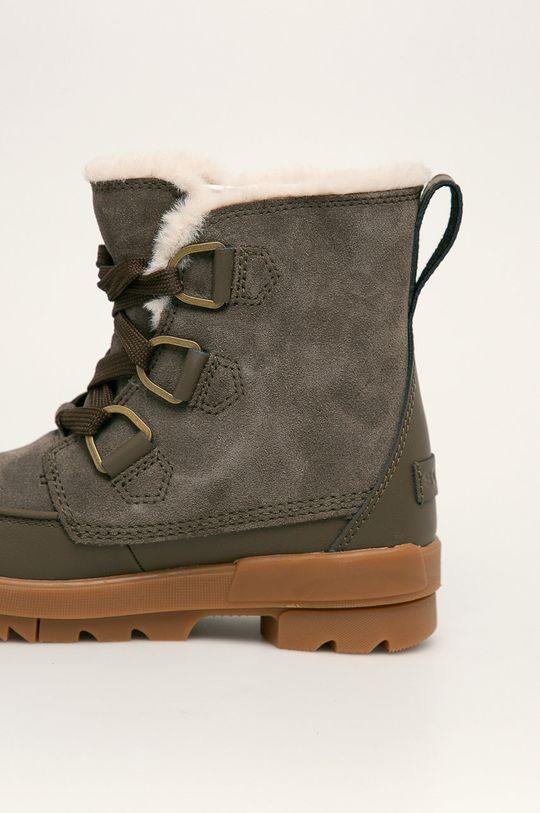зелено-коричневий Sorel - Шкіряні чоботи Torino II