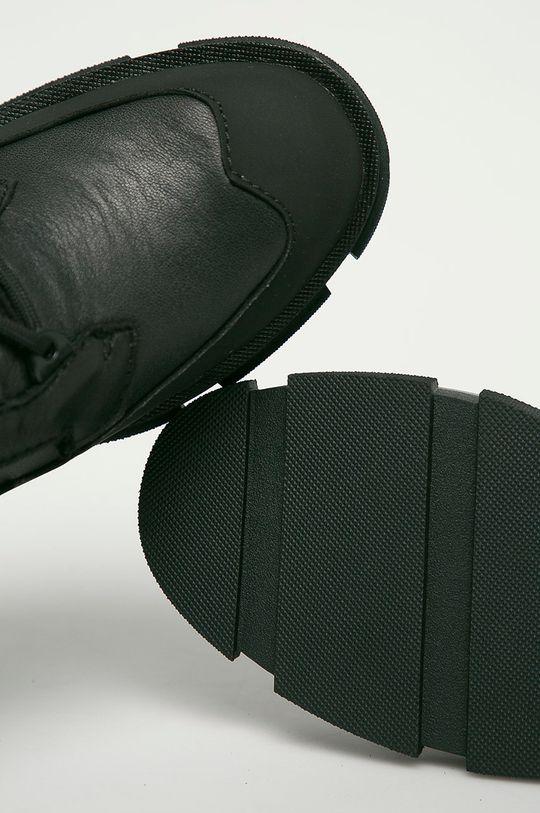 negru Big Star - Cizme de piele